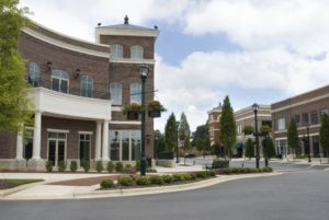 Upscale Shopping Center - Commercial Services